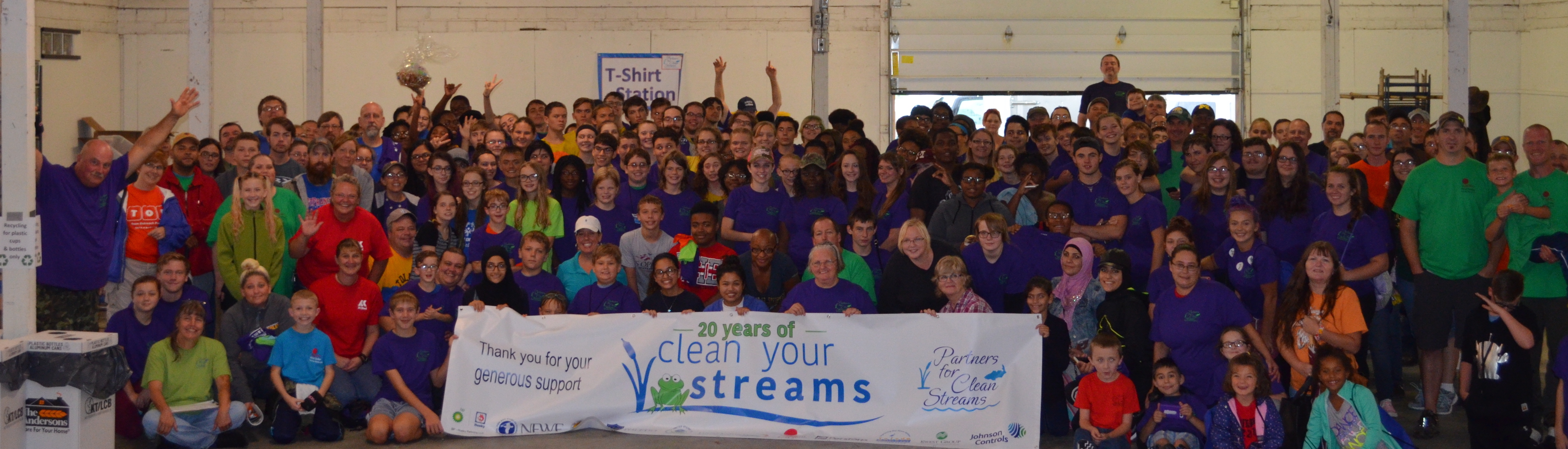 20th Clean Your Streams Day
