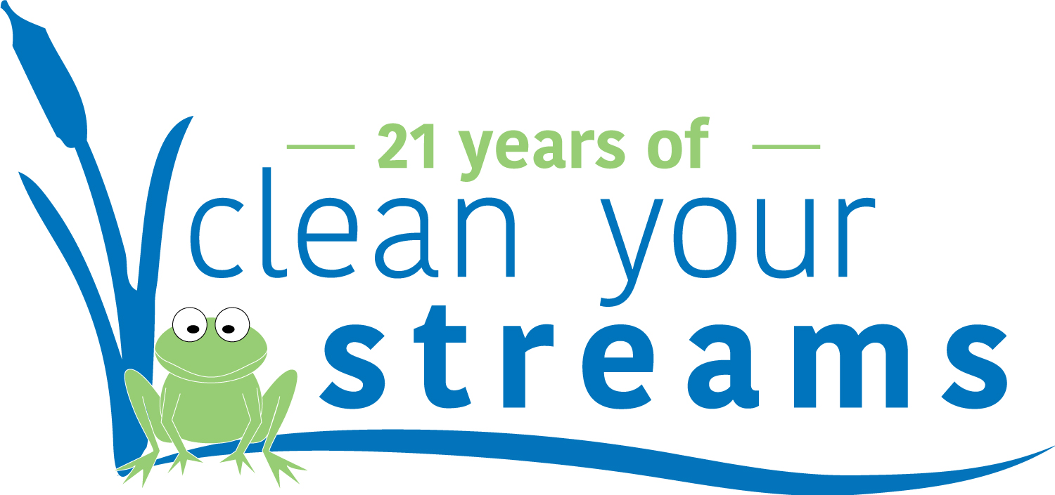 Celebrating 21 Years of Clean Streams!<p>Over the past 21 CYS cleanups, 266,113 pounds of trash have been collected by 11,025 volunteers.</p>